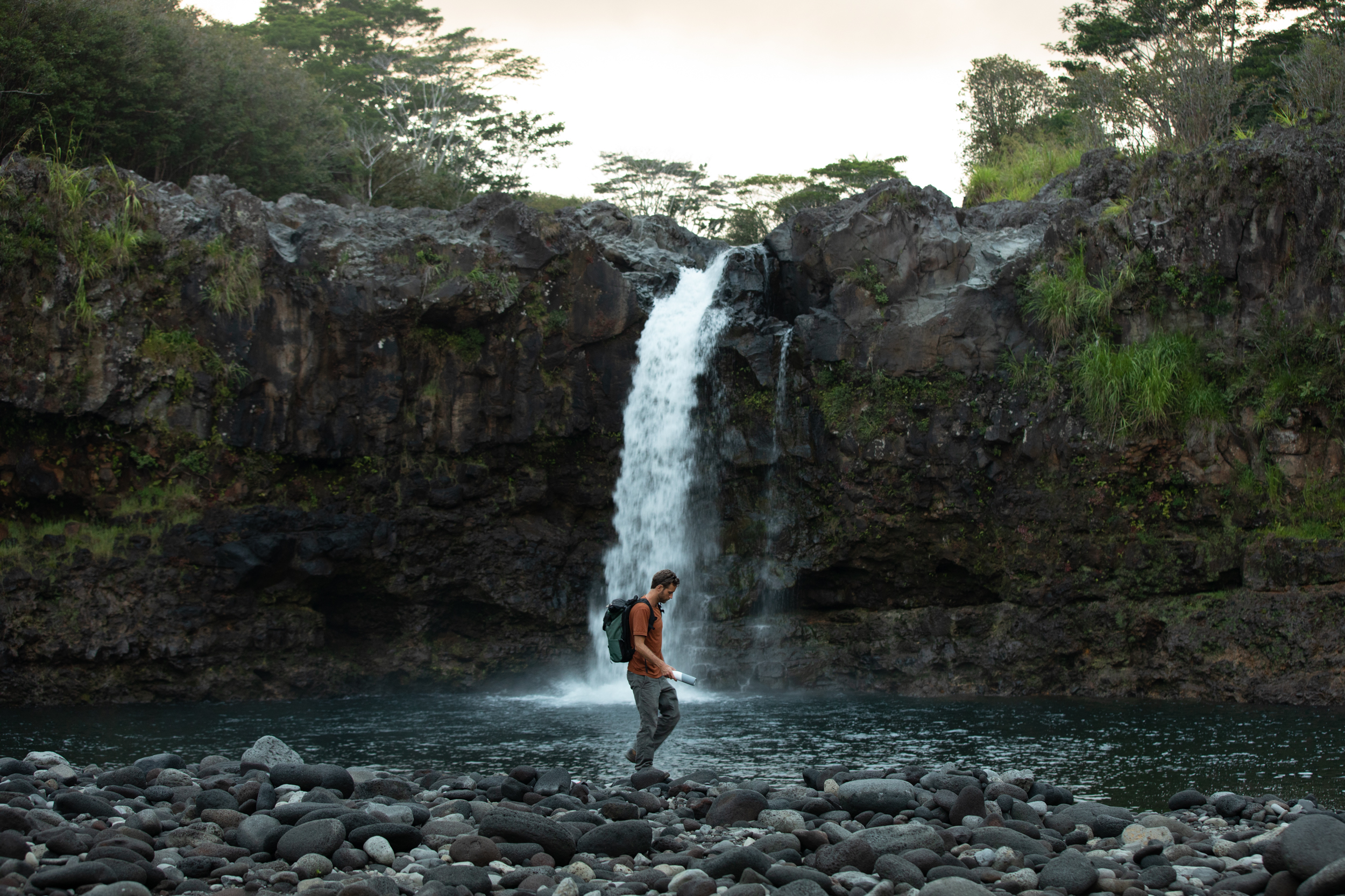 Photo by Elana Jadallah @ElanaLoo waterfall with LARQ Bottle Movement
